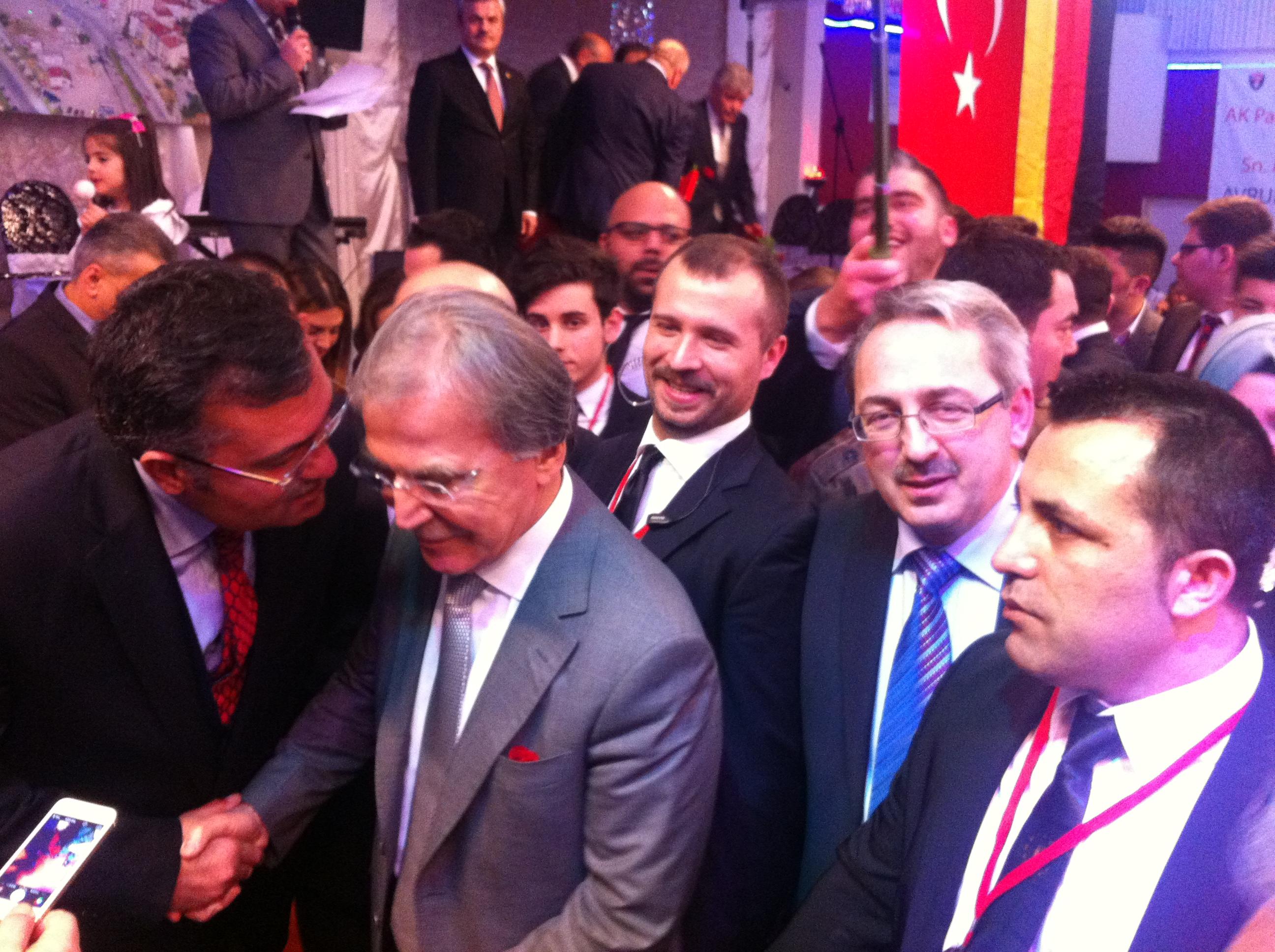 Basbakan Yardımcısı Sayın Mehmet Ali Şahin programı 2015