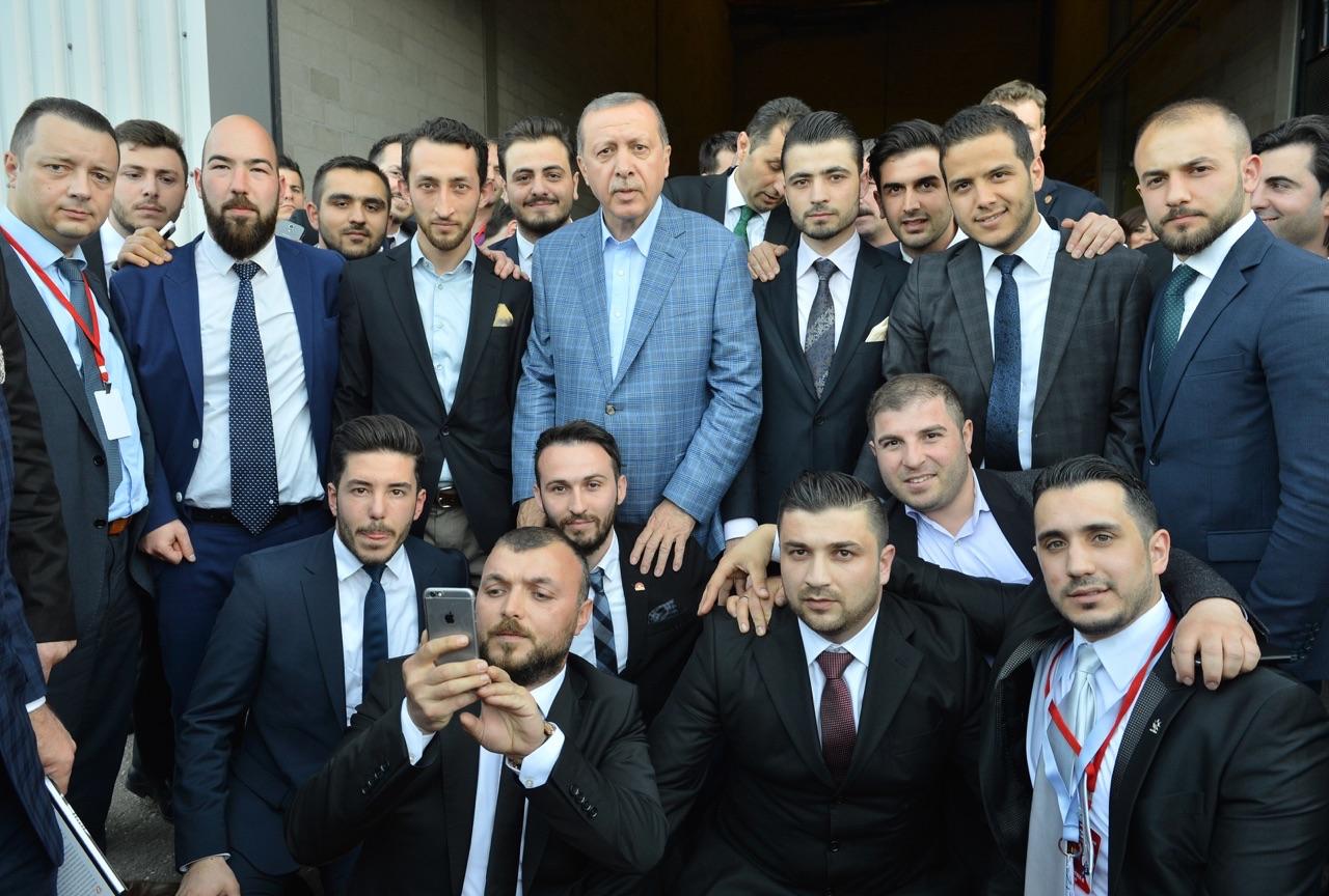 Bölge genclik baskanimiz Adem Yilmaz,Cumhurbaskanimizla